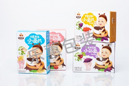 婴幼儿米粉彩盒